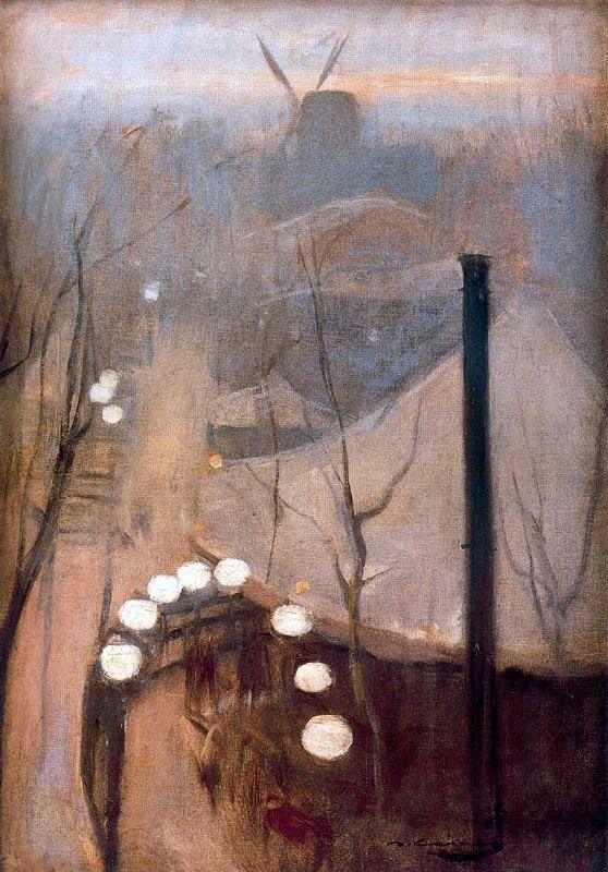 Montmartre ( Paris) :  Ramon Casas i Carbó