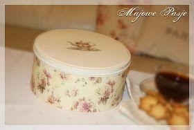 Puszka na ciasteczka, w stylu angielskim