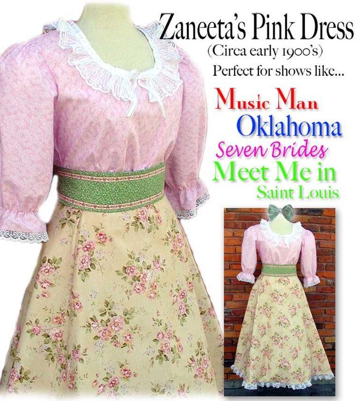 MissEm.com - Music Man Zaneeta dress, $135.00 (http://www.missem.com/music-man-zaneeta-dress/)