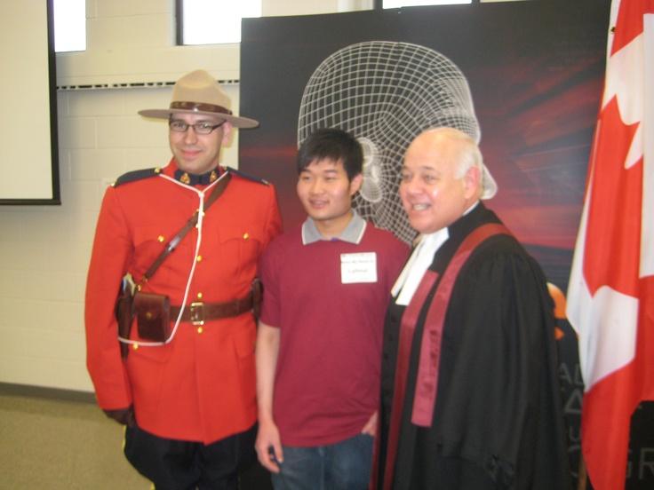 Canadian Citizenship Ceremony - March 20th 2013 - Mohawk College - McIntyre Theatre  www.mohawkcollege.ca