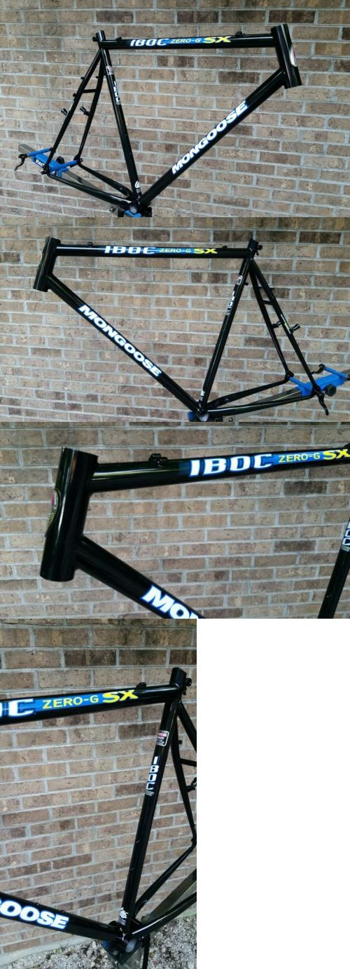 Bicycle Frames 22679: Nos 90 S Mongoose Iboc Zero G Sx Frame Double Butted Tange Super-Lite Mtb -> BUY IT NOW ONLY: $224.95 on eBay!