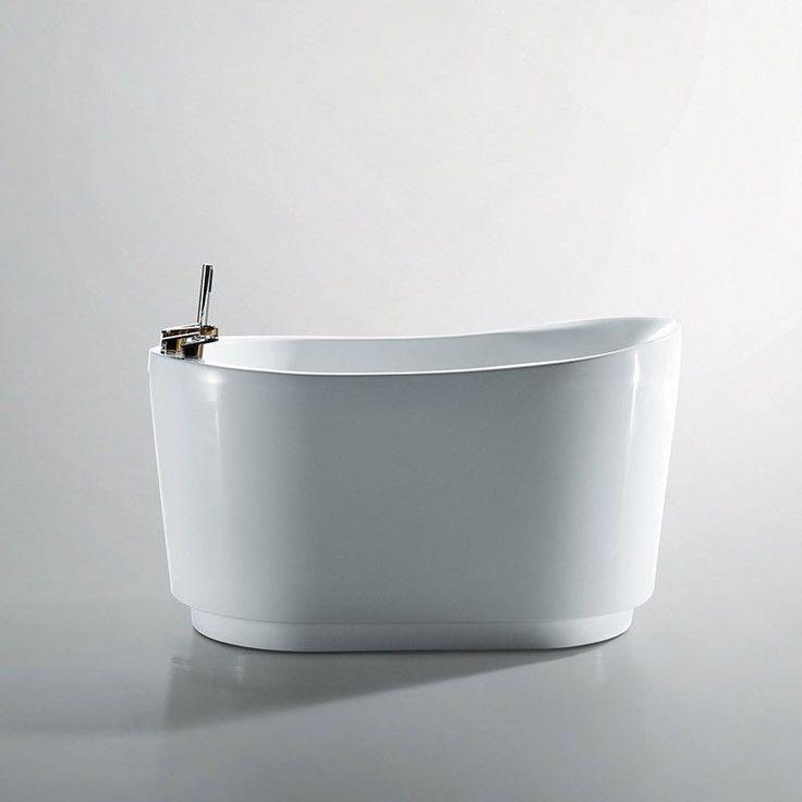 Baignoire Ilot Piccola, 130x80 cm