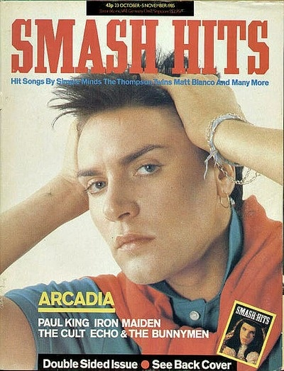 Smash Hits Magazine 1985
