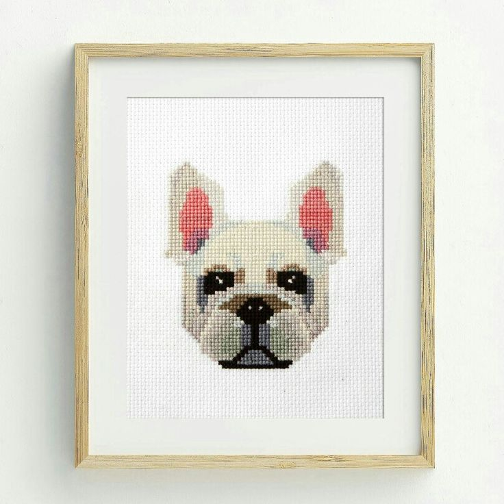 Dear Sukie  PDF Counted Cross Stitch - French Bulldog #etsy #supplies #crossstitch #pattern #instructions #dmc #crafttherapy #handmade #gift #countedcrossstitch #xstitch #modernxstitch #moderncrossstitch #frenchbulldog #dog #bulldog #workisfun