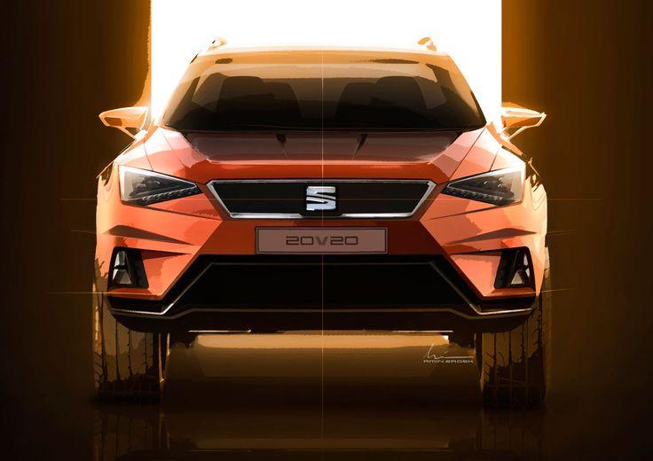 SEAT 20V20 Concept - Design Sketch - Car Body Design