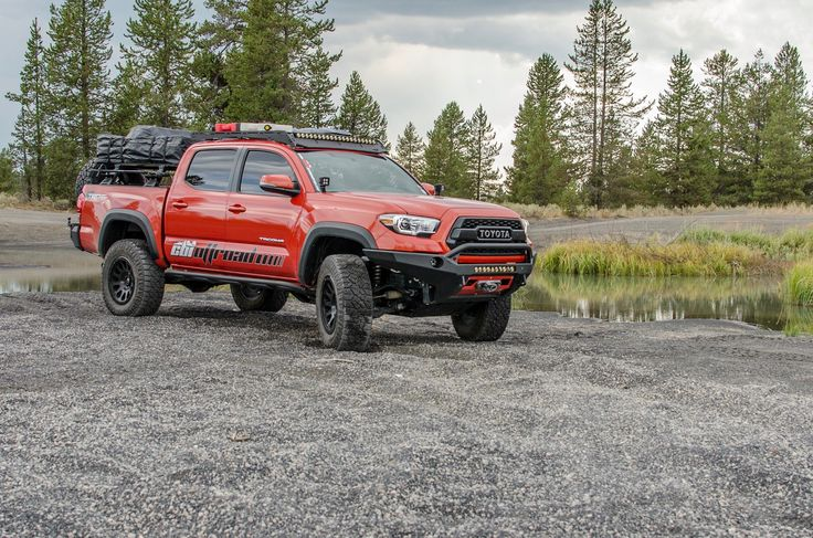 Designed to follow the body lines on your new Tacoma and provide essential functionality and clearance.