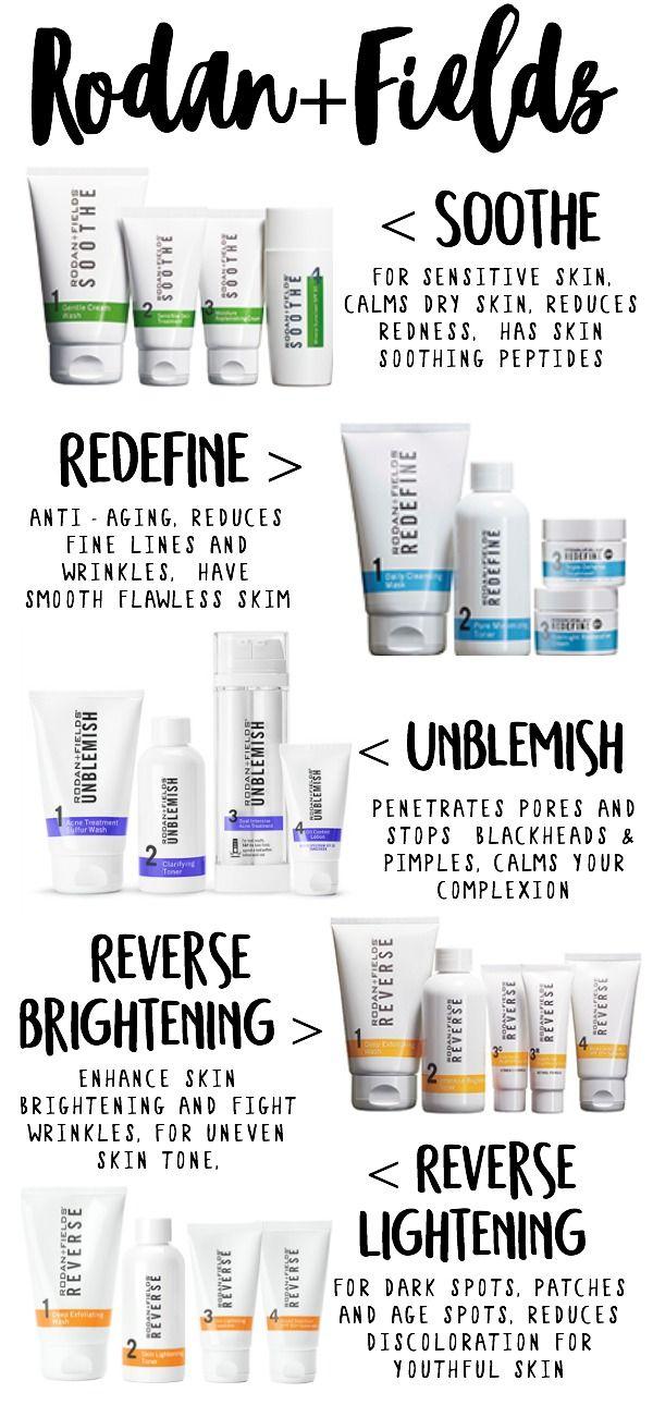 Skincare Regimens Rodan And Fields R F Rodan Fields
