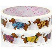 Yeaaaaaaaaaaaaaaaa, wiener dog tape.