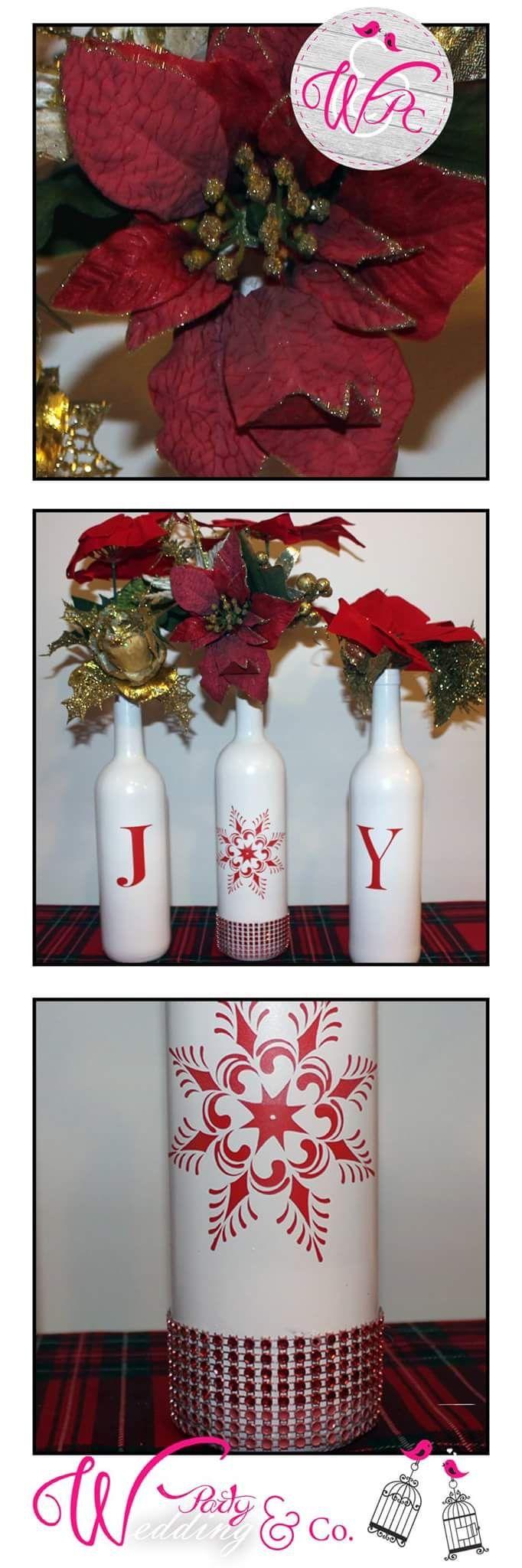 Bottiglie di vino riciclate...JOY
