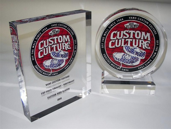 @Vans Off The Wall Off The Wall Acrylic Trophies #customculture  www.planetplexi.com