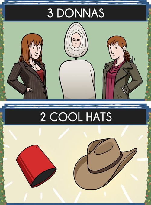 The 12 Days of Doctor Who: 3 Donnas, 2 Cool Hats