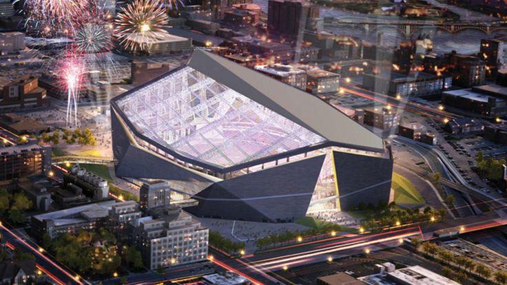 MN Vikings stadium design: Big, bold, glassy | Star Tribune
