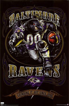 Baltimore #Ravens #Mascot poster