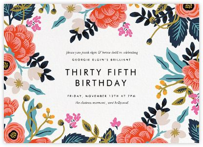 Best 25+ Birthday invitations ideas on Pinterest