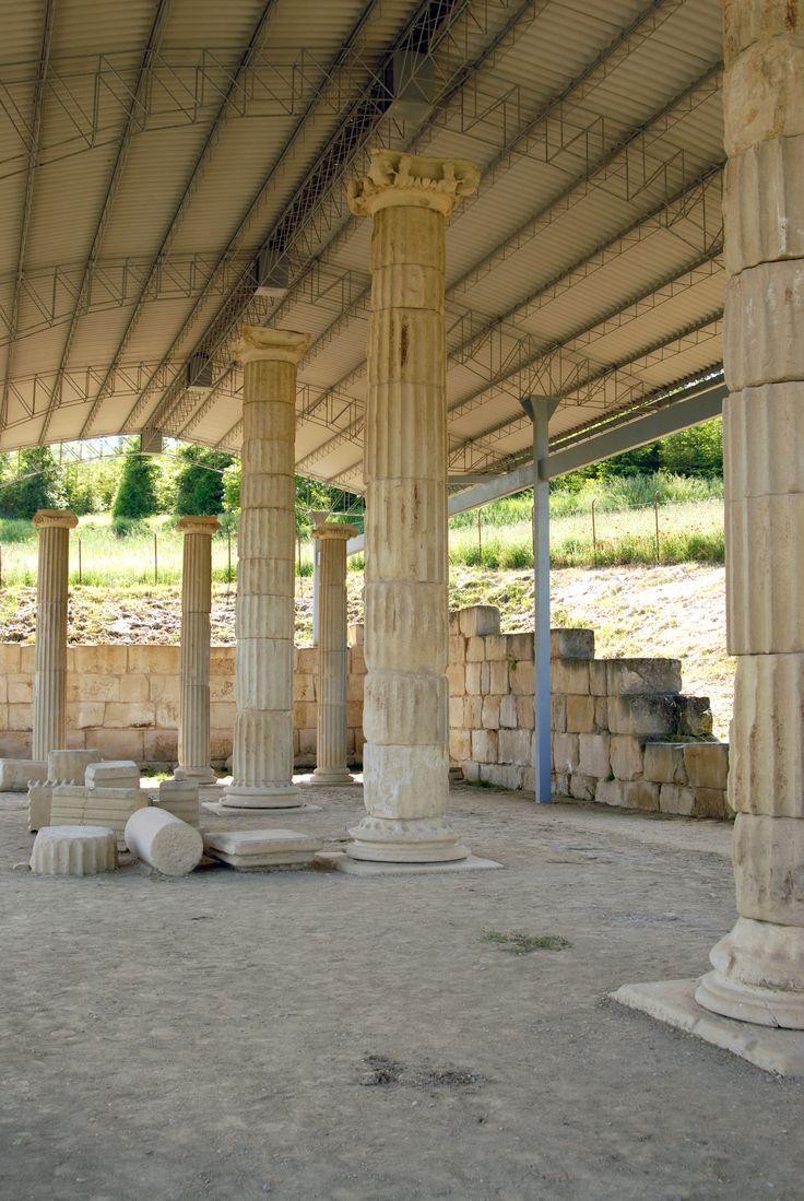 Tempio Ellenistico romano #marcafermana #monterinaldo #fermo #marche