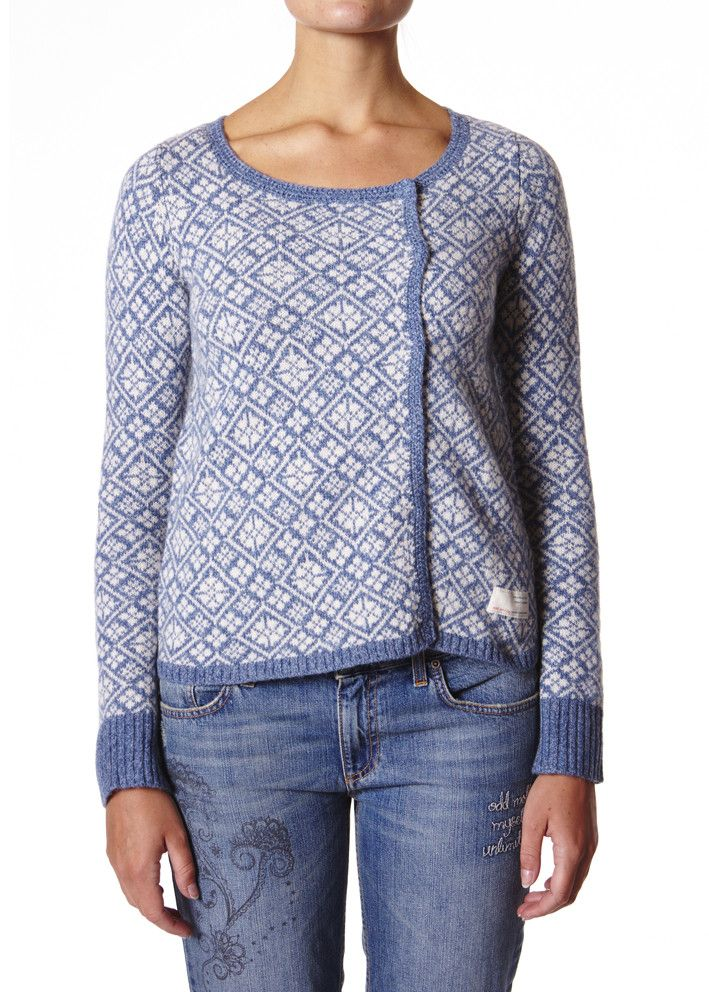 Odd Molly Snowman Sweater - stratosphere M714-746 FW14