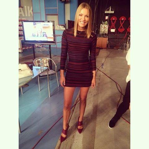 Vicky Kaya wearing Parthenis AW 14 15