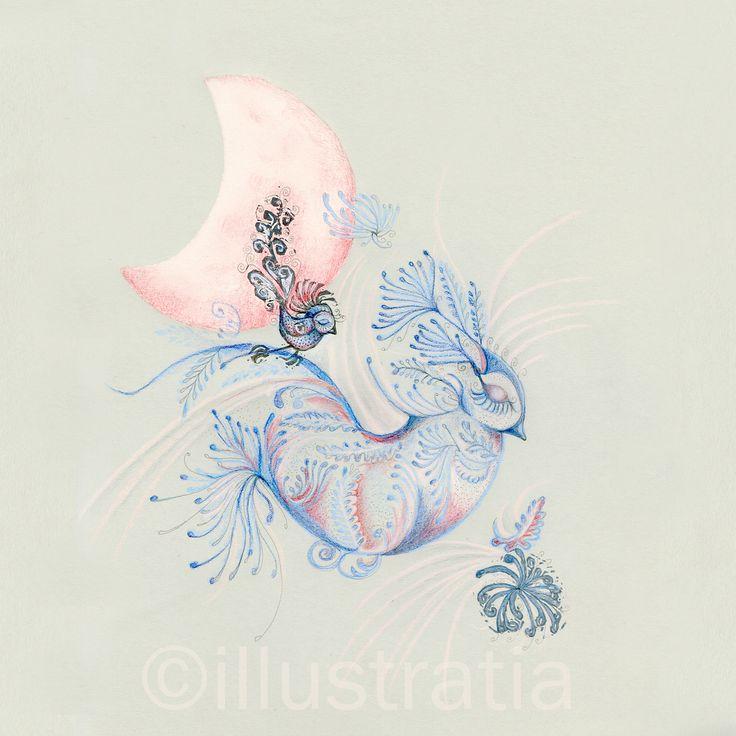 'dreamscape' - 2- mixed media