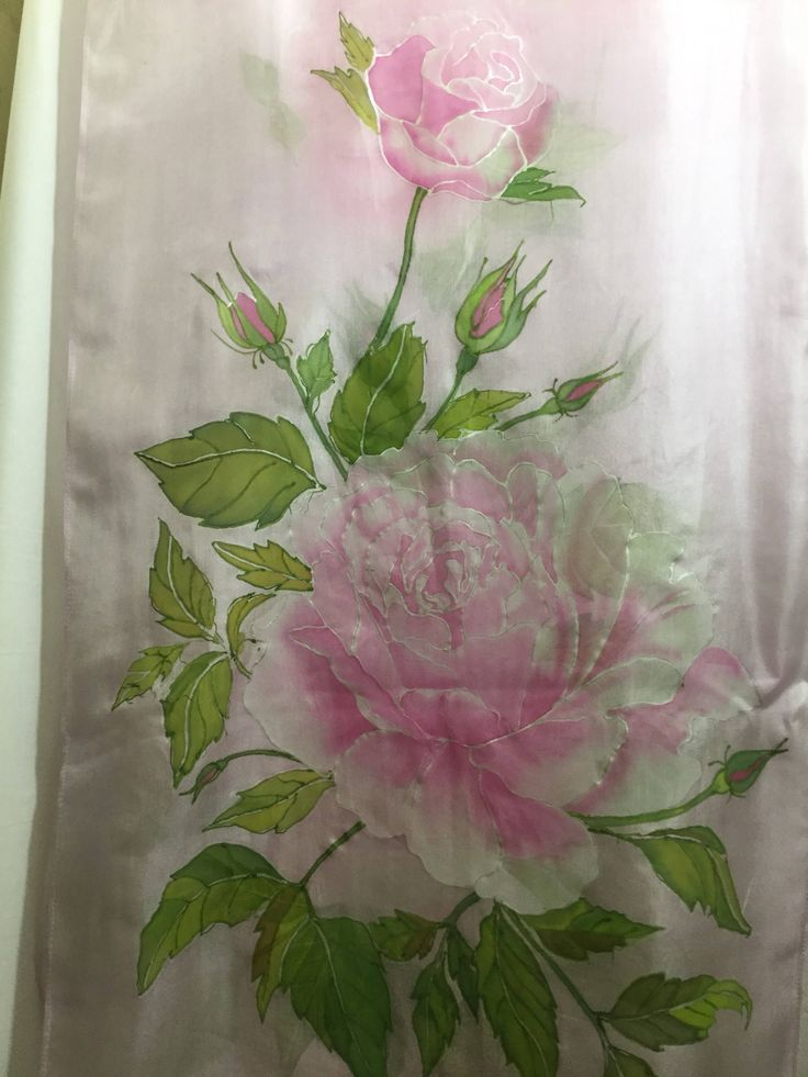 Silk scarf,roses flowers,silk chifon by AllOfMyHobbies on Etsy https://www.etsy.com/listing/576210182/silk-scarfroses-flowerssilk-chifon