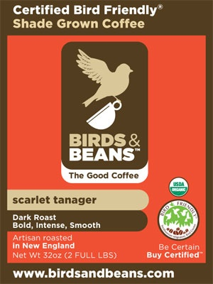 """Be kind to songbirds when you purchase your holiday coffees. Look for brands labeled """"shade grown,"""" which ensures that the rainforest habitat where migrating songbirds spend their winters is not destroyed to create monoculture coffee plantations. Coffee from @Melissa & Beans is Certified Bird Friendly, which means it meets the most stringent standards. Choose from 4 different roasts, starting at $11.70"""