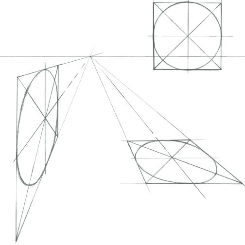Exercise: Drawing a Box in One-Point Perspective - Drawing