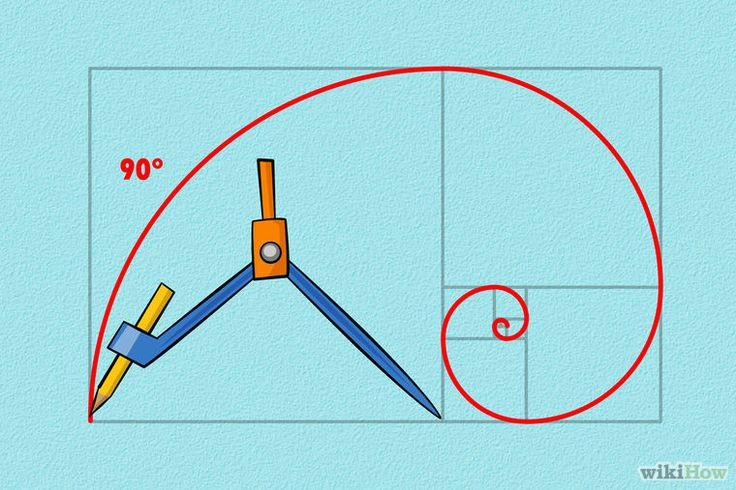 How to Draw the Golden Spiral: 13 Steps (with Pictures) - wikiHow