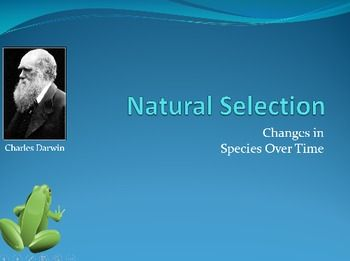 Darwin S Theory Of Evolution Through Natural Selection Illustrates How