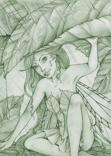 greenies or greencoaties - british name for fairys