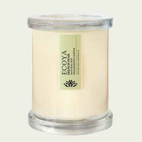 Ecoya French Pear Metro Jar Candle - French Pear Gifts