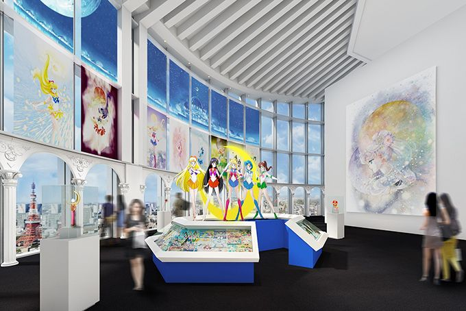 Starting April 16, a special Sailor Moon exhibition opens in Tokyo to celebrate one of Japan's most successful manga and anime.