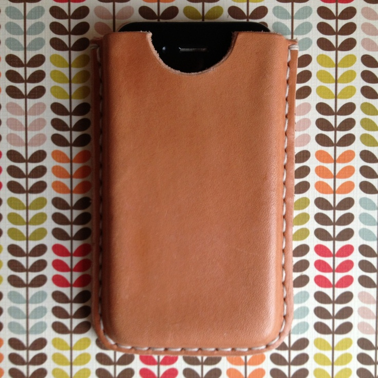 IPhone 4 leather cover by lenerix on Etsy, kr250.00