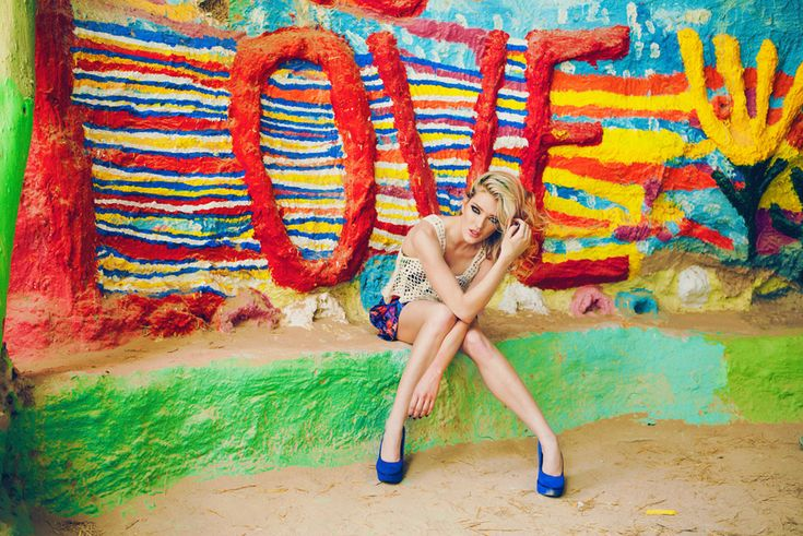 The Colors of Love, fashion editorial by Nicole Hill