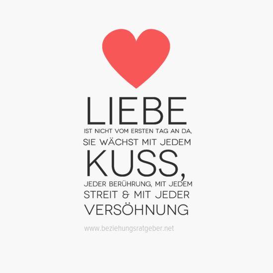 Liebe ist nicht vom ersten Tag an da.  Sie wächst mit jedem #Kuss, jeder #Berührung, mit jedem Streit & Mit jeder #Versöhnung. Was macht eine gute Beziehung aus? 7 wesentliche Aspekte: http://www.beziehungsratgeber.net/beziehungstipps/gute-beziehung/