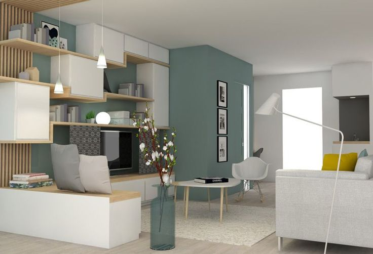 1000 id es sur le th me meuble tv palette sur pinterest for Architecte amenagement interieur