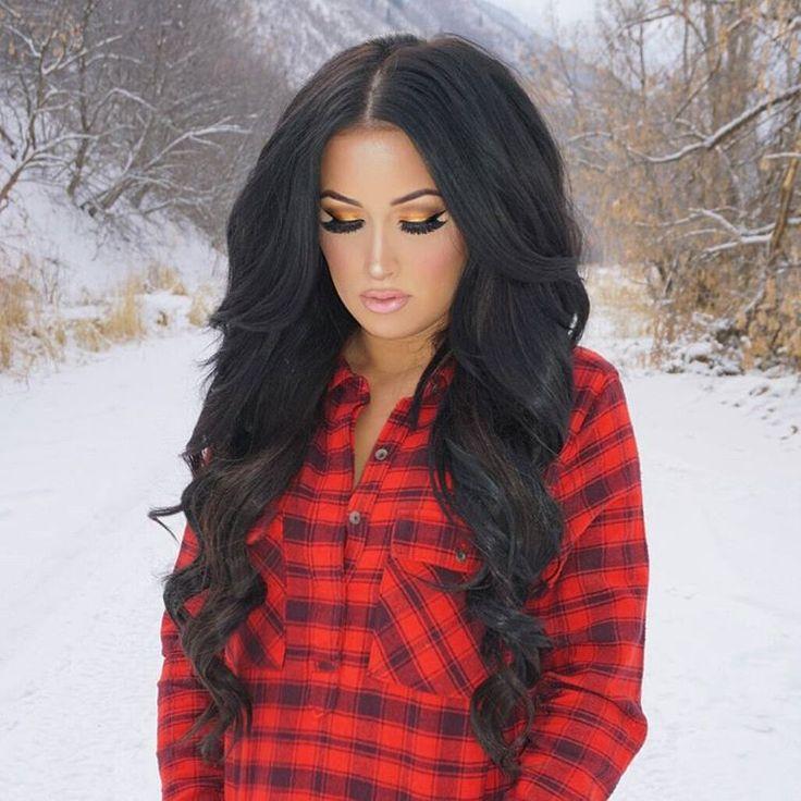 Incredible 1000 Ideas About Long Black Hair On Pinterest Black Hair Hair Short Hairstyles Gunalazisus