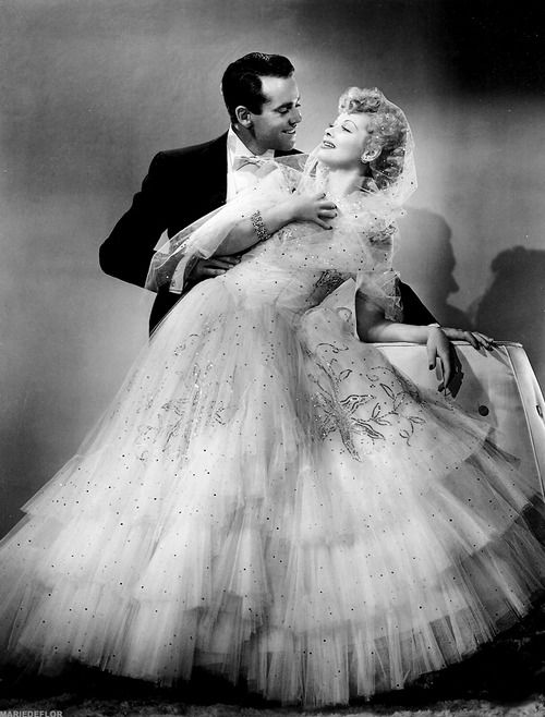 Lucille Ball and Henry Fonda photographed for The Big Street  (1942)
