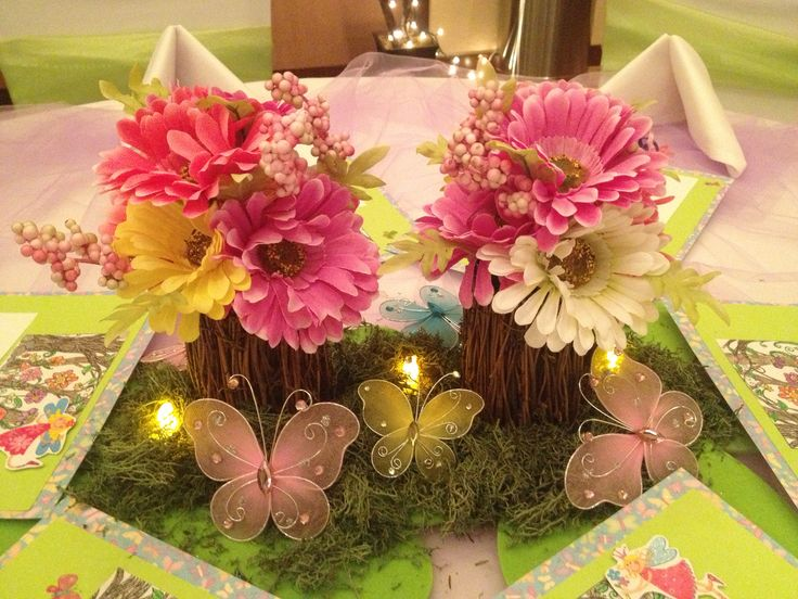 Fairy Party Centerpieces