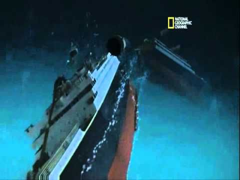 Cool for kids who are Titanic buffs  National Geographic CGI representation of exactly how the Titanic sank
