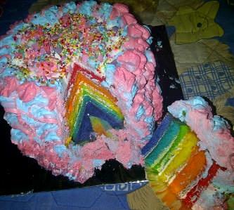 Rainbow Tart
