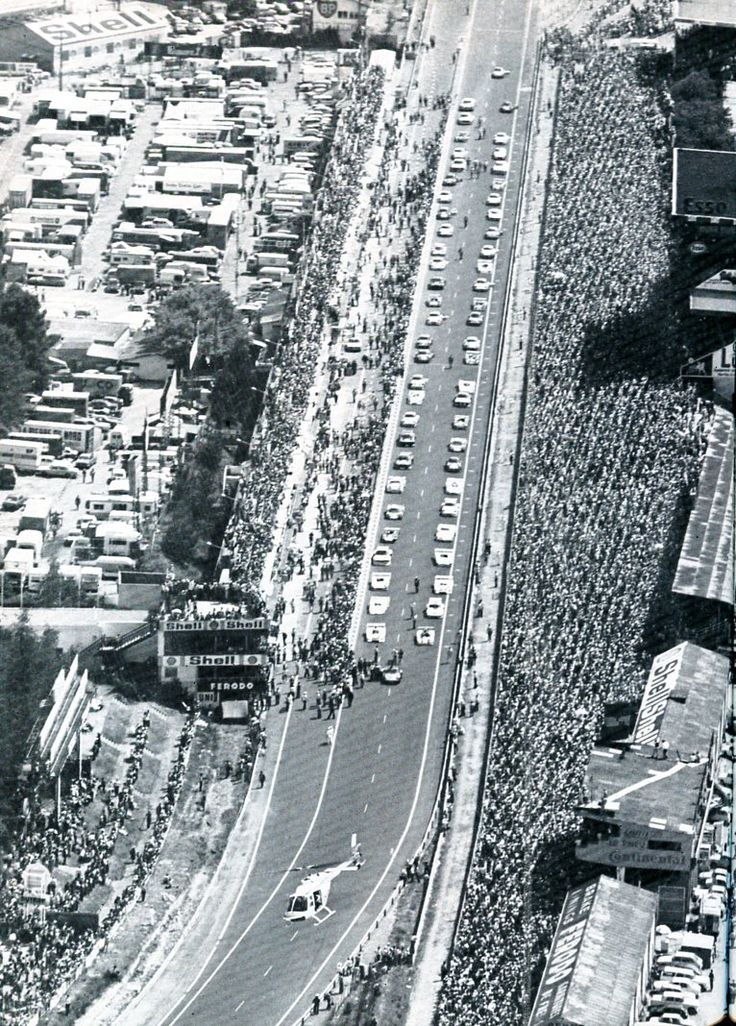 Départ des 24 Heures du Mans 1976 - sport-auto juillet 1976.