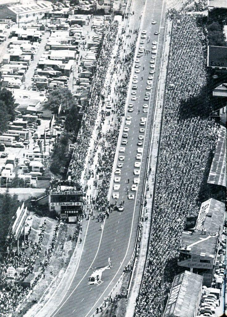 Départ des 24 Heures du Mans 1976