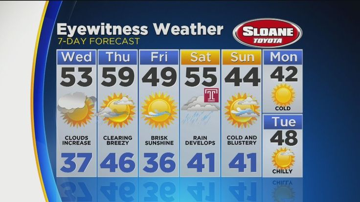 nice Kate Has Your Tuesday Night Forecast