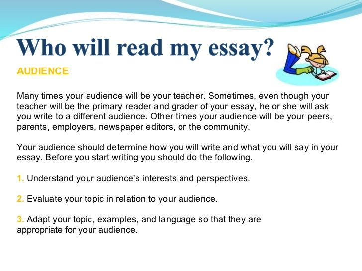 writing for specific purpose and specific audience pdf