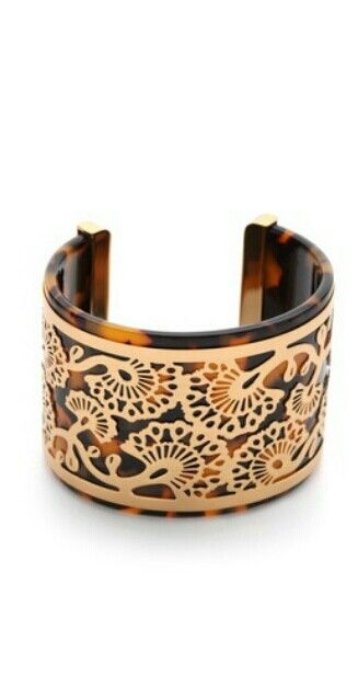 Tony Burch Madura Frete cuff bracelet from Shopbop. Beautiful