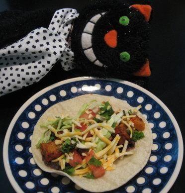 Simple Potato Tacos (Vegetarian - omit cheese for vegan)
