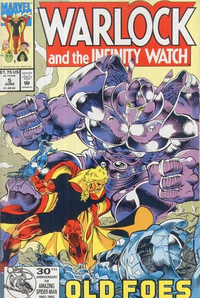 infinity watch. warlock and the infinity watch vol 1 #5 e