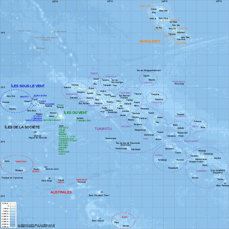 French Polynesia relief map with communes - Polynésie française — Wikipédia