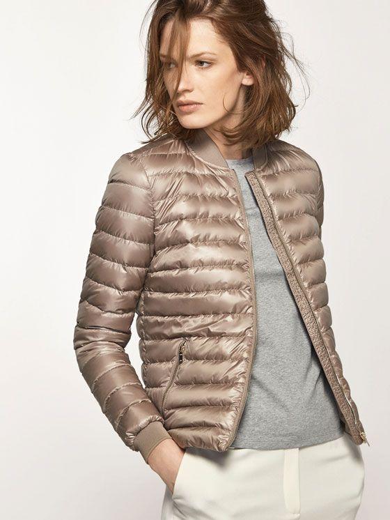 Bomber jackets - WOMEN - Massimo Dutti - Hungary
