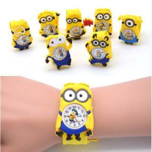 3 Boyutlu Minionlar Çocuk Kol Saati