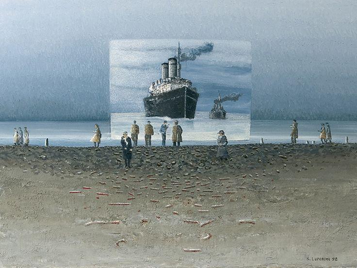Sandro Luporini - Apparizione petroliere, 1998